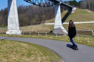 Maršrutai po Alytų Pesčiujų dviraičų tiltas tiltas mobile